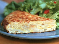 Spanish food and Spanish recipes Tortilla