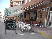 Bars in Guardamar