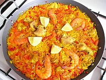 Spanish food and Spanish recipes Paella